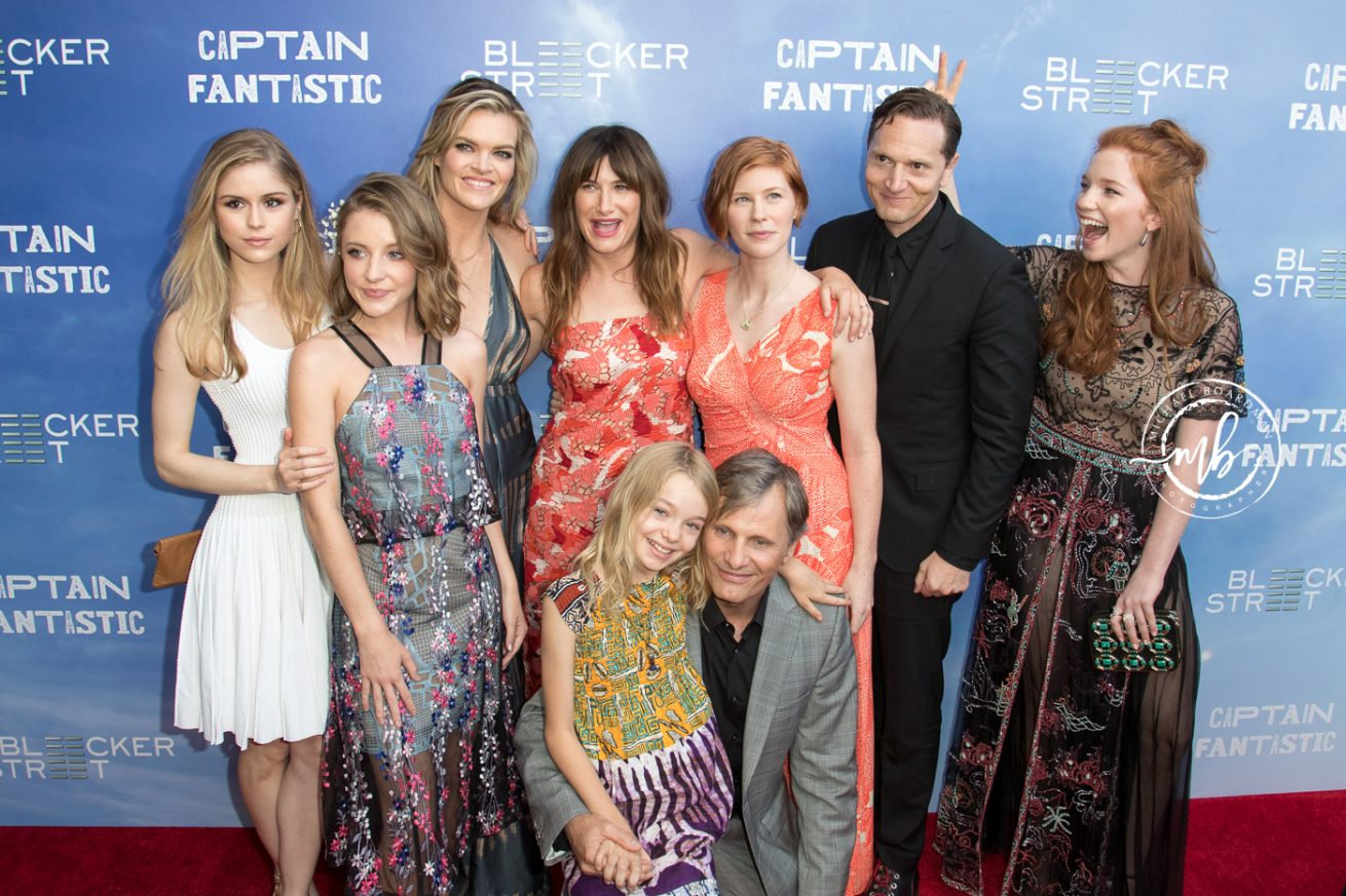 Cast of Captain Fantastic