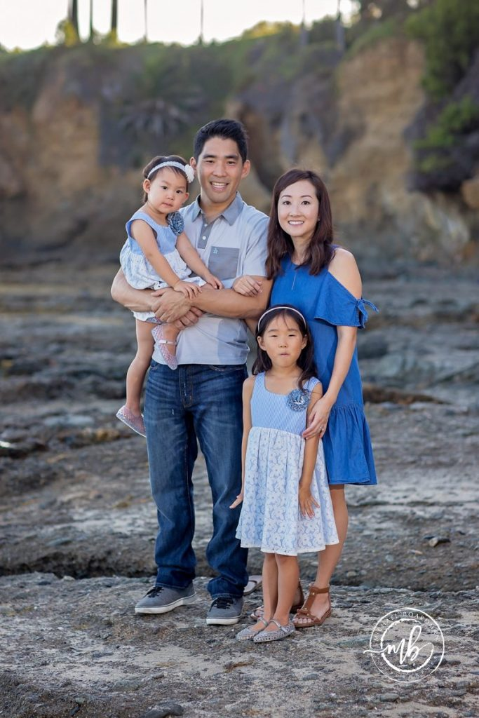 Chung Family Portrait Photographer Laguna Beach