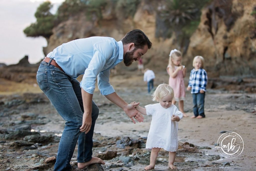 Schannep Family Portrait Session in Laguna Beach
